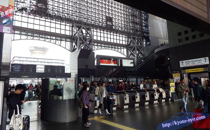 JR京都駅の中央改札