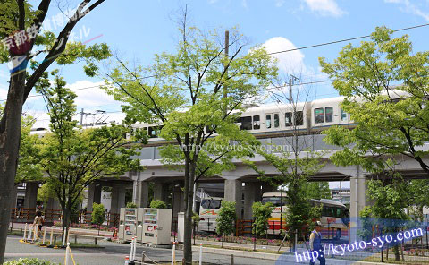 JR嵯峨野山陰線の高架橋