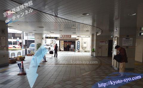 阪急桂駅の入口