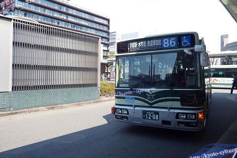 京都の市バス