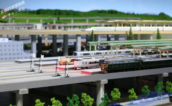 京都鉄道博物館の1/80サイズの鉄道模型