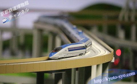 500系新幹線の模型
