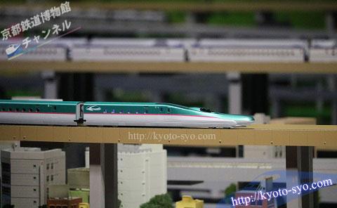 E5系新幹線の模型