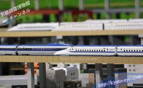 N700系新幹線の模型