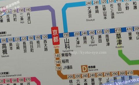 路線図と運賃