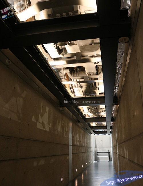 EF66形35号機のかさ上げ展示