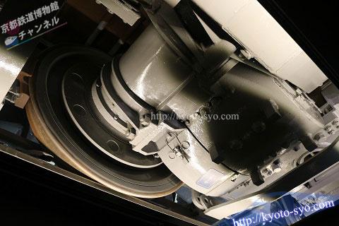 EF66形35号機のモーター