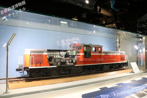 DD51形756号機の模型
