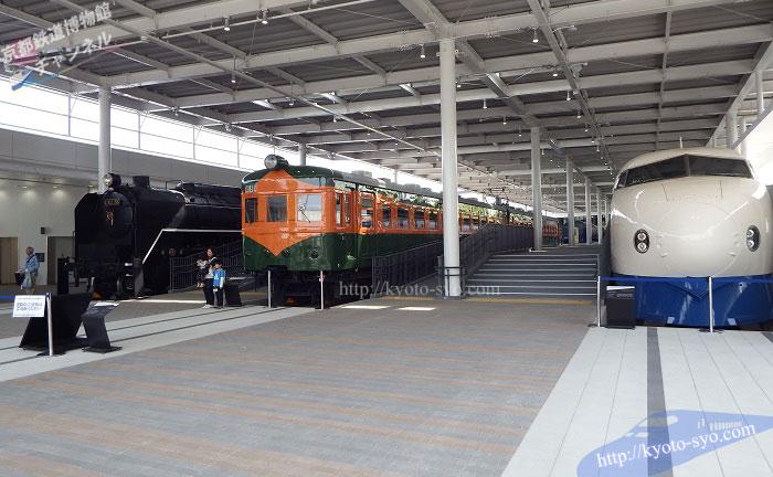 京都鉄道博物館のプロムナードの入口