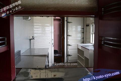 スシ28形301号車の厨房