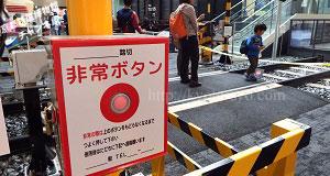 京都鉄道博物館の踏切