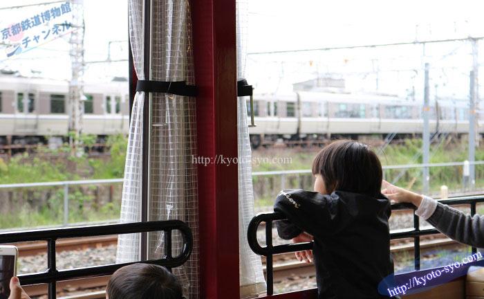SLスチーム号の車窓からみた風景