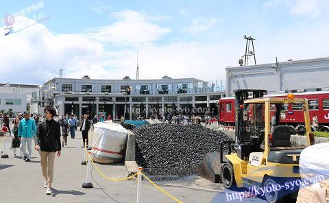 蒸気機関車に使う石炭