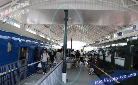2代目京都駅で使われていた柱