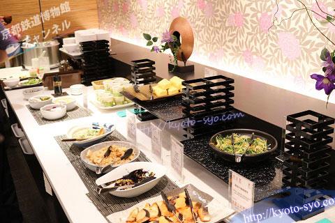 ホテル近鉄京都の朝食ブッフェ