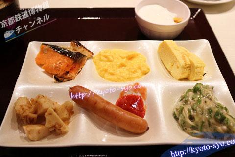 ホテル近鉄京都の朝食