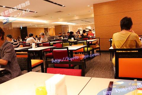 ホテル近鉄京都の朝食ラウンジ