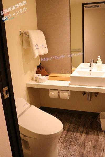 ・トイレと洗面台