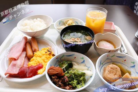 ホテル京阪京都グランデの朝食