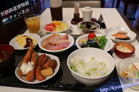 ドーミーインの朝食ブッフェ