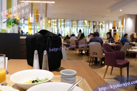 新・都ホテルの朝食会場
