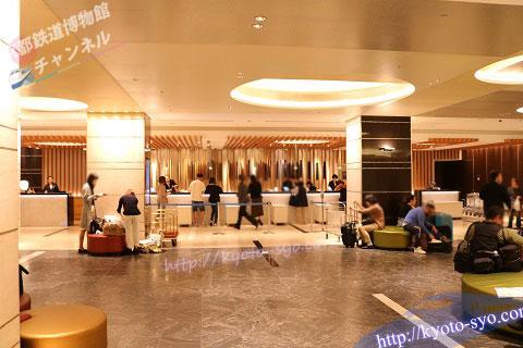 新・都ホテルのロビー