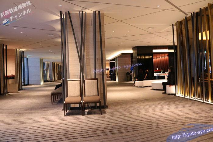 リーガロイヤルホテル京都のフロント