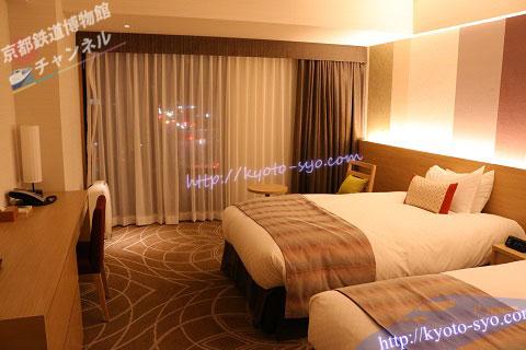 リーガロイヤルホテル京都のスタンダートツイン