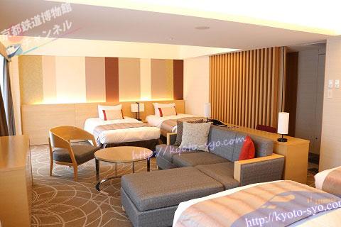 リーガロイヤルホテル京都のファミリールーム