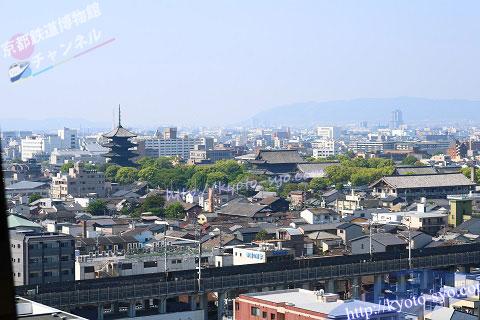 トップオブキョウトから見える東寺