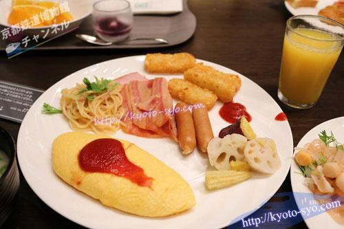 カザの朝食ブッフェ