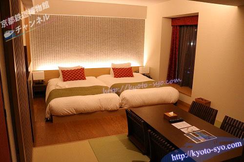 リーガロイヤルホテル京都の和洋室