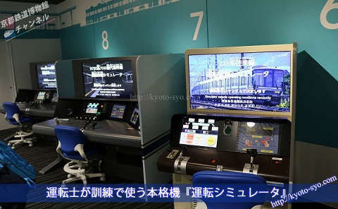 京都鉄道博物館の運転シミュレータ