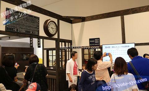 京都鉄道博物館の昔の駅