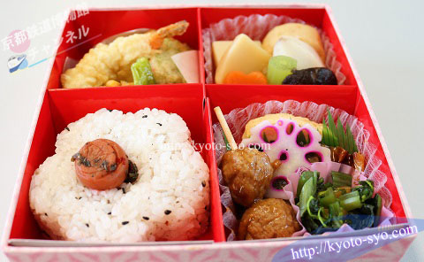 京都鉄道博物館のブルートレインのお弁当