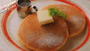 メープルバターパンケーキ