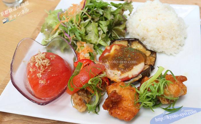 京野菜レストラン梅小路公園のランチ