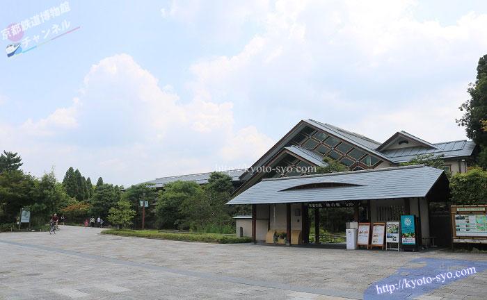 梅小路公園の緑の館