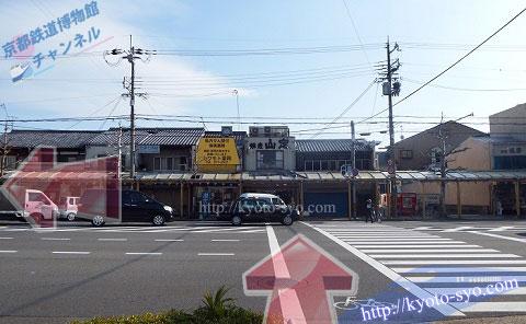 七条通りと七本松通りの交差点