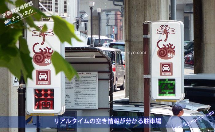 京都鉄道博物館周辺の駐車場