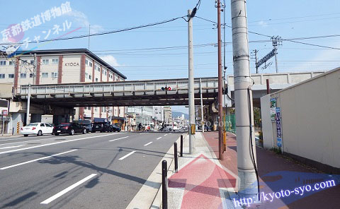 JR嵯峨野線の高架橋