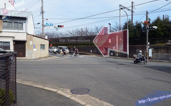 京都鉄道博物館周辺の道路