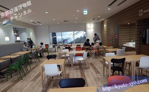 京都鉄道博物館のレストラン