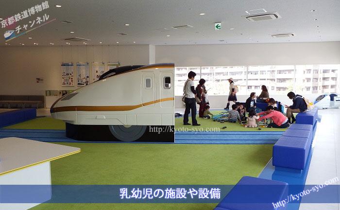京都鉄道博物館のキッズパーク