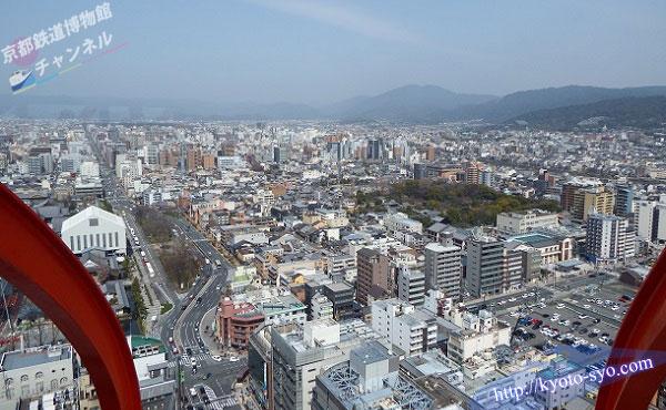 京都タワーから見える景色