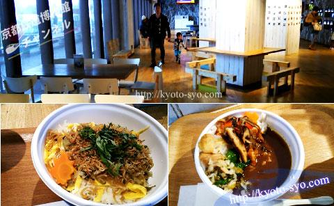 京都水族館の食事