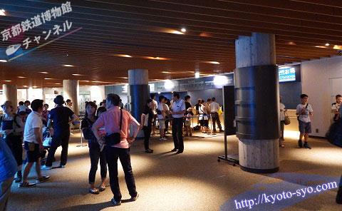 京都水族館のエントランス